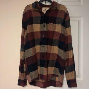 Men's Hollister Flannel